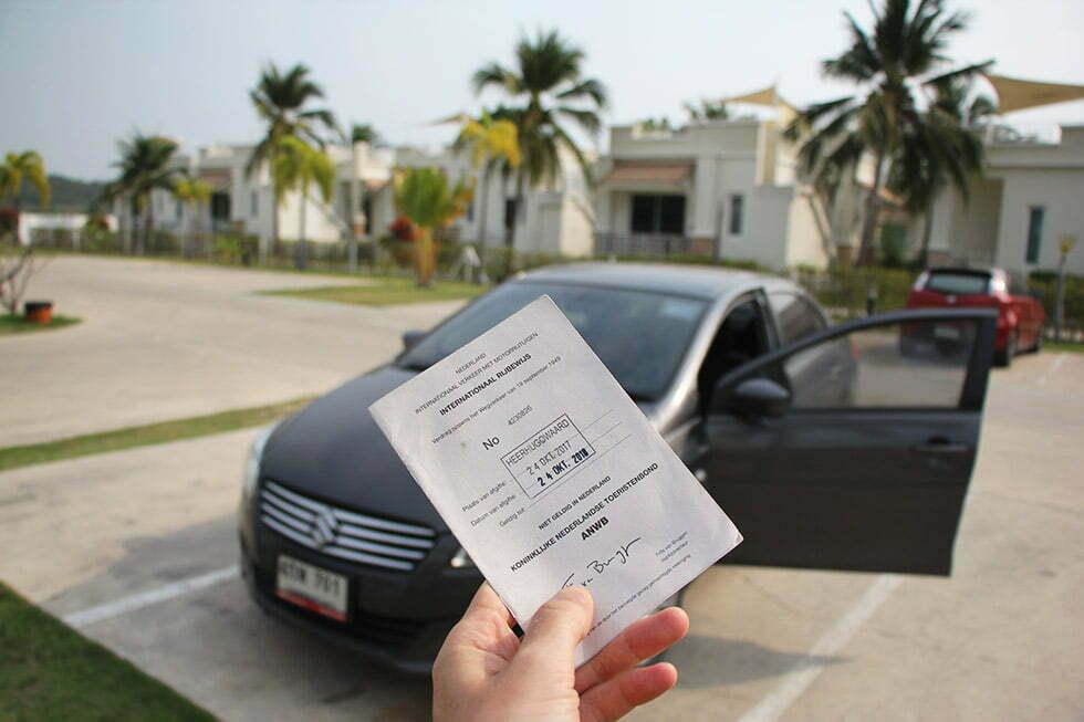 Een internationaal rijbewijs in Thailand: een must