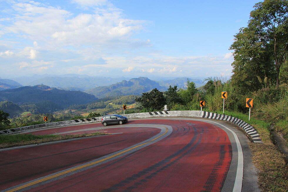 Route THailand Pai