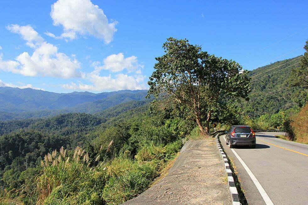 Roadtrip van Pai naar Chiang Mai