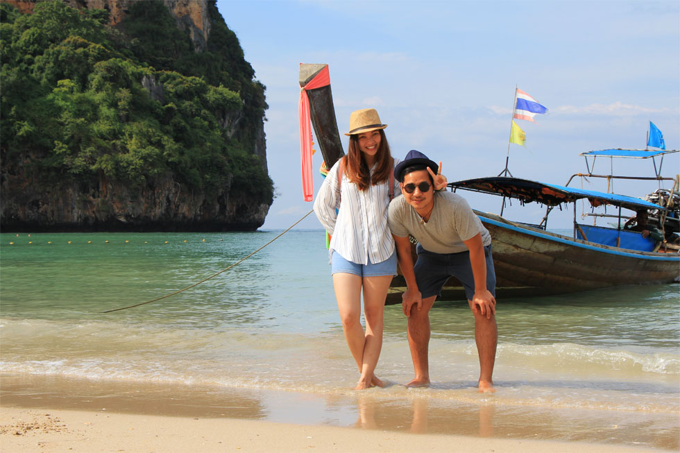 Goi en Oeh op Railay Beach in Krabi