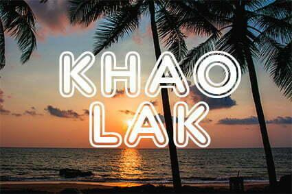 Reis verder naar Khao Lak