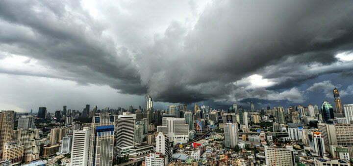 Regenseizoen Bangkok