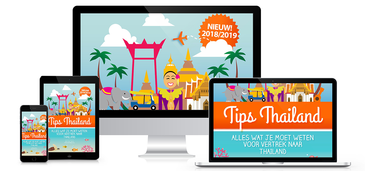 Digitale reisgidsen van Tips Thailand