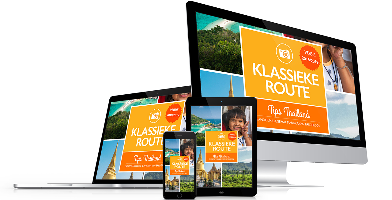 digitale reisgidsen van Tips Thailand - route