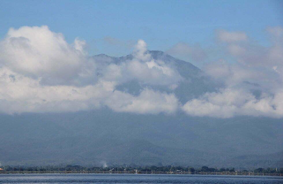 Kwam Phayao is het grootste meer van Noord-Thailand