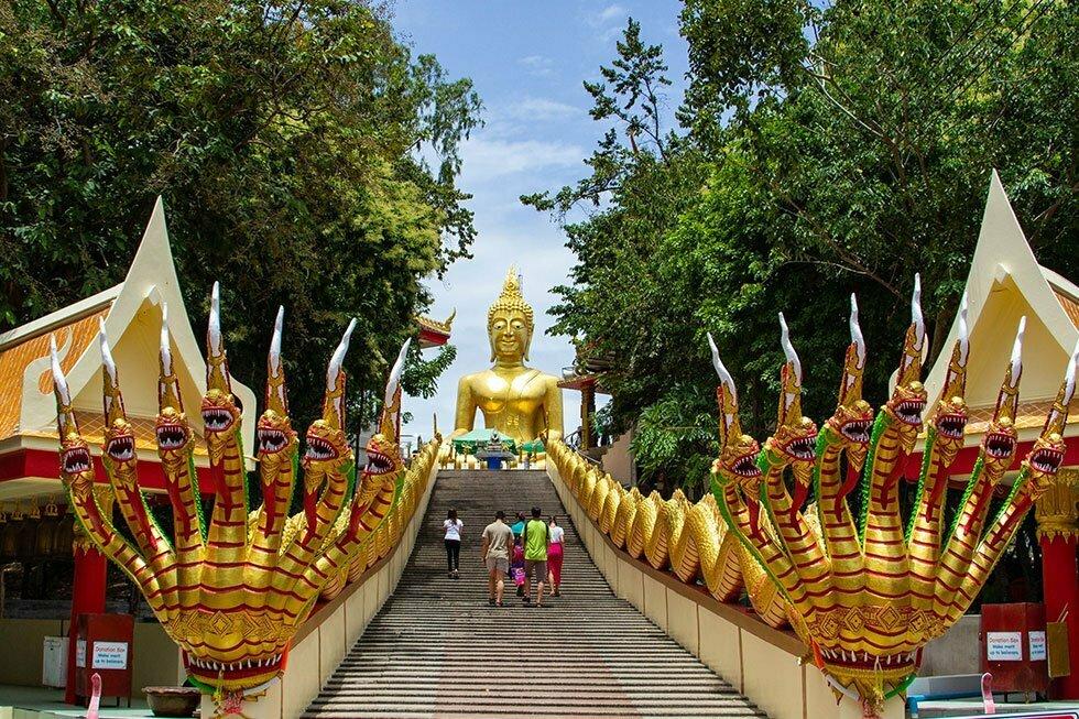 Trap naar Big Buddha
