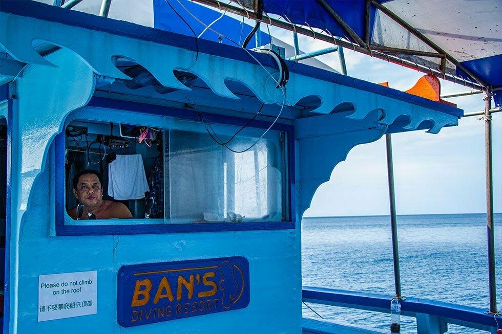 De kapitein van Ban's