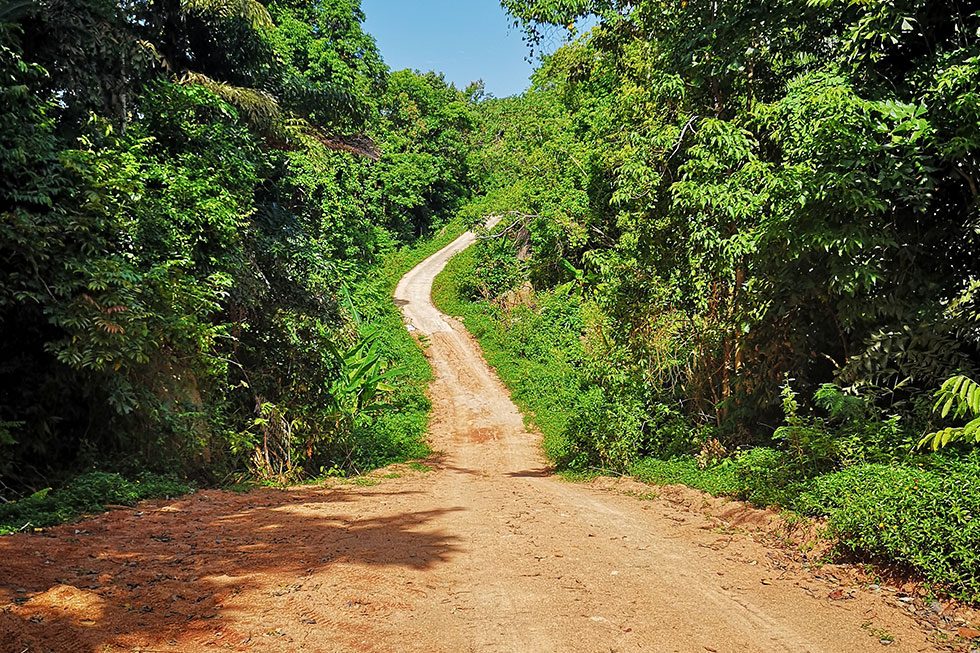 Dirt Road naar Mango Viewpoint