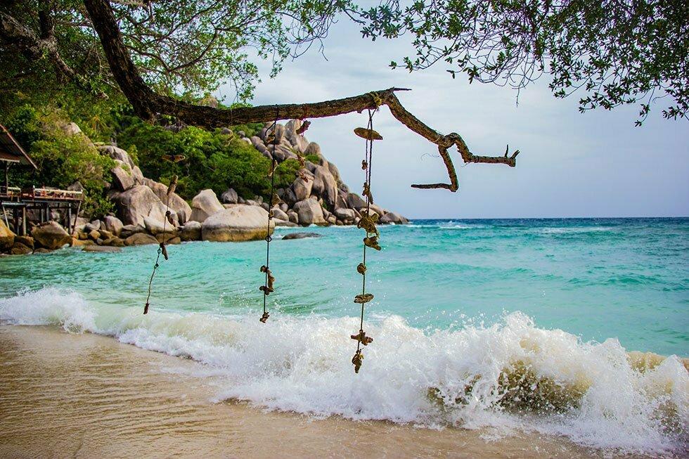 Freedom Beach op Koh Tao
