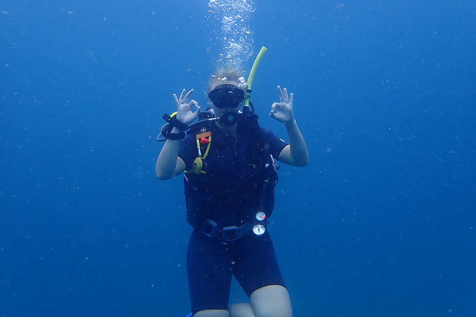 PADI Open Water Okay