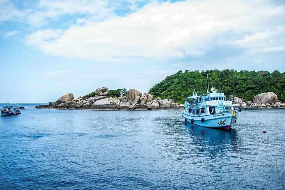 Hin Wong Bay op Koh Tao