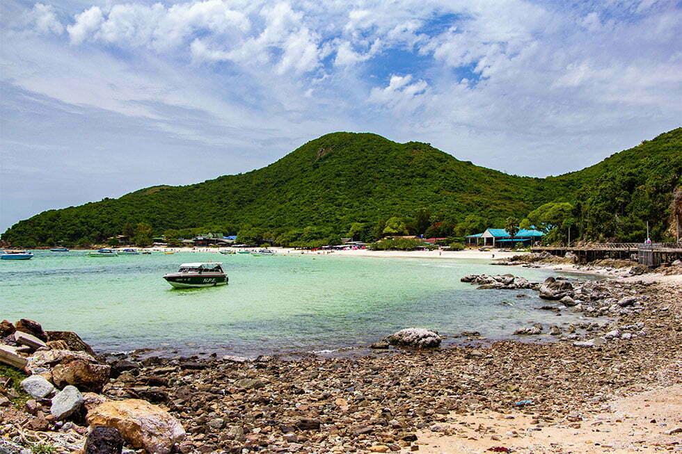 Het eiland Koh Larn