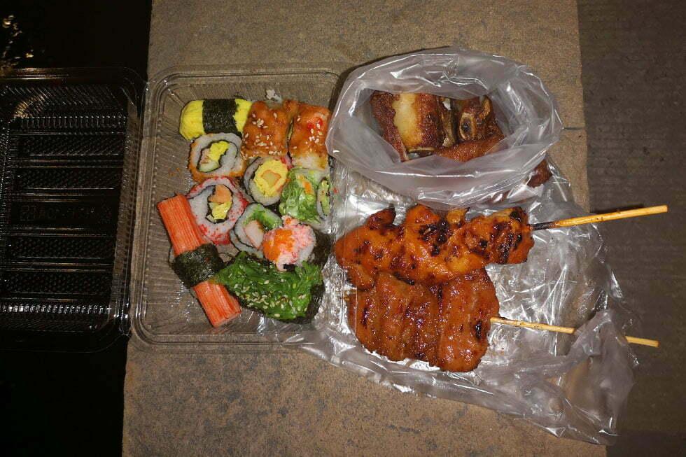 Streetfood van de Night Market