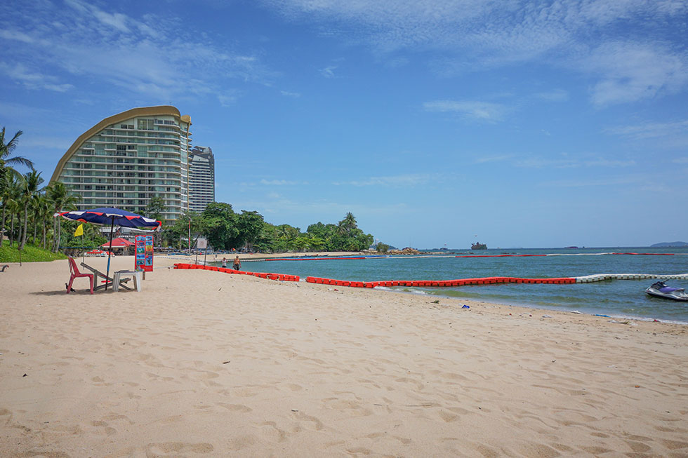 Wongamat Beach in Pattaya