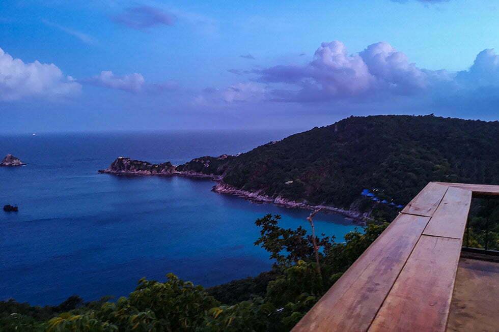 Uitzicht Blue Heaven