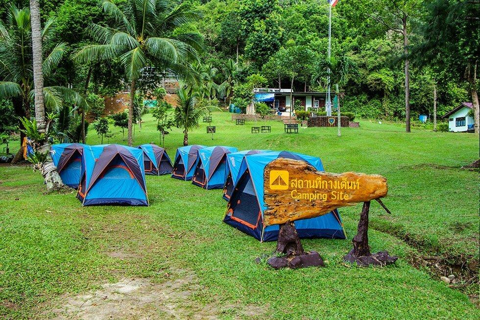 Koh Wua Talap Camping