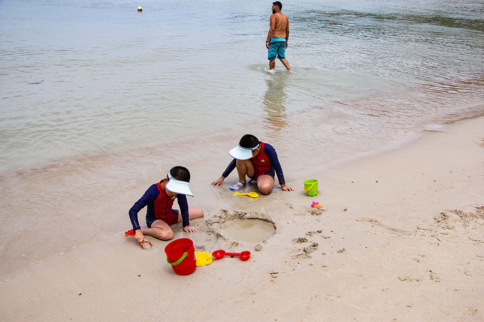 Chaweng Noi Beach op Koh Samui