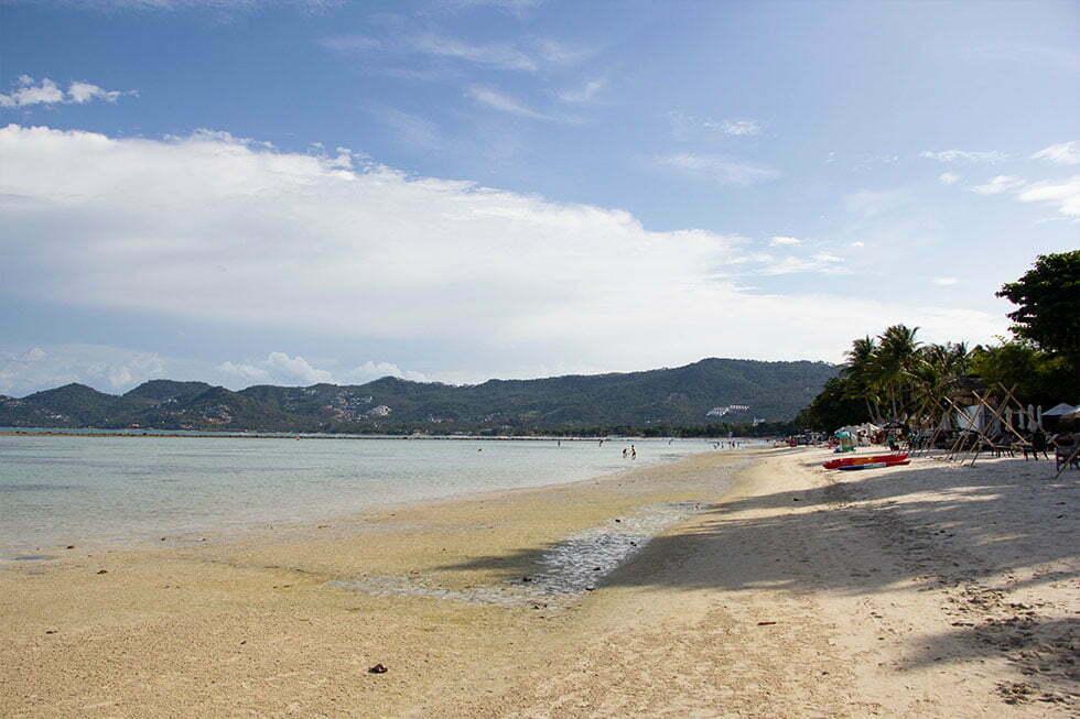 Chaweng Beach op Koh Samui