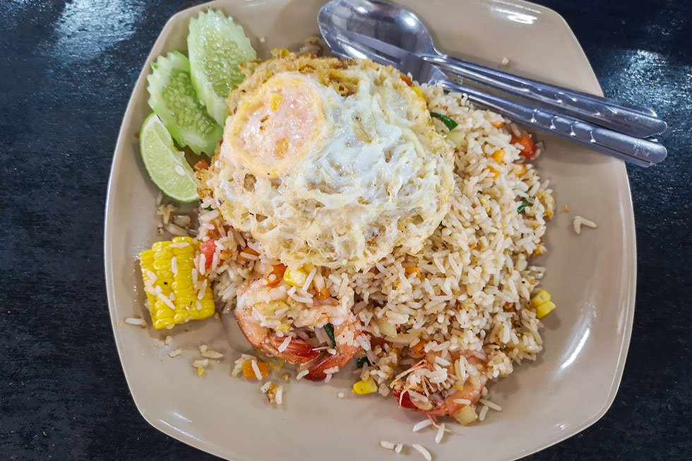 Fried Rice bij Krua Thai