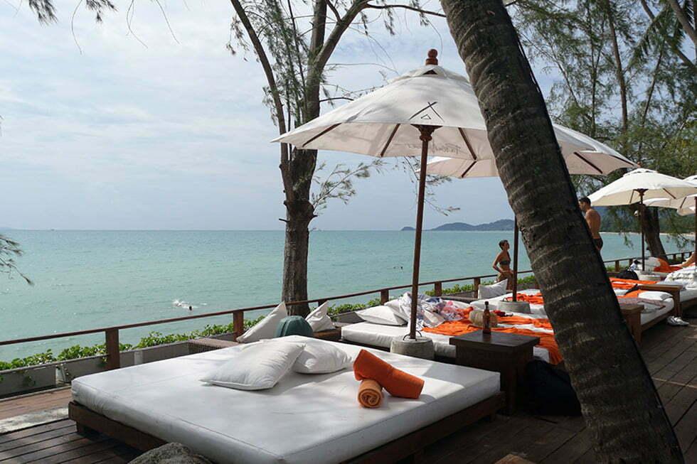Nikki Beach aan Lipa Noi Beach