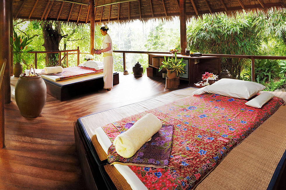 Massageruimte van Tamarind Forest Spa