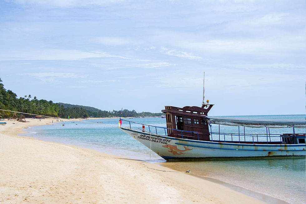 Mae Nam Beach op Koh Samui