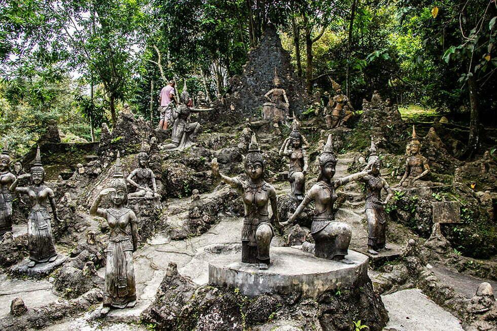 Secret Buddha Garden op Koh Samui