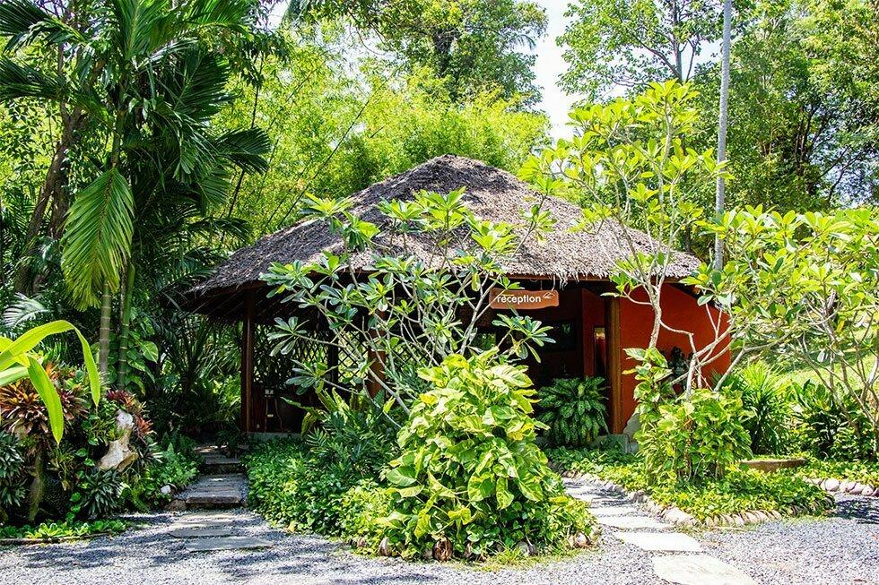 Receptie Tamarind Forest Spa