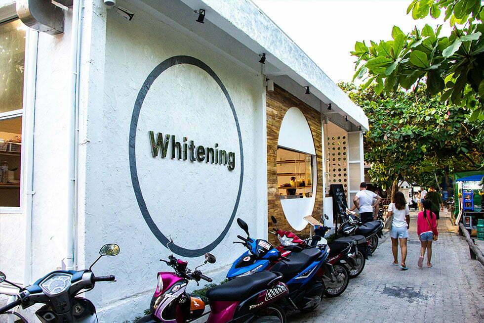 Whitening op Koh Tao