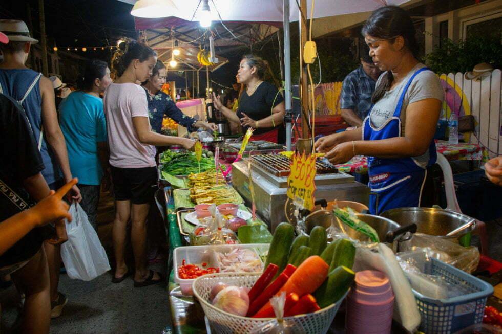 Lamai Market op Koh Samui