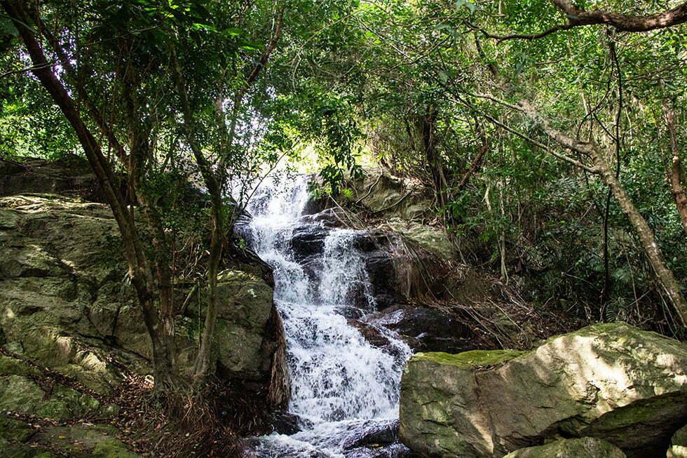 Na Muang 2 Waterval op Koh Samui
