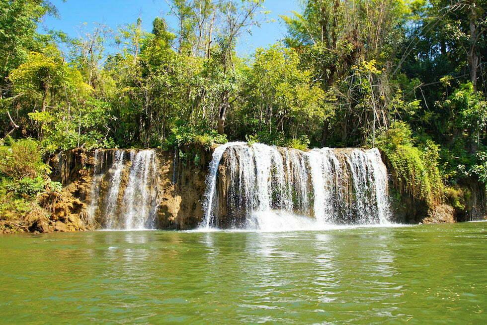 Sai Yok Yai Waterval in Kanchanaburi