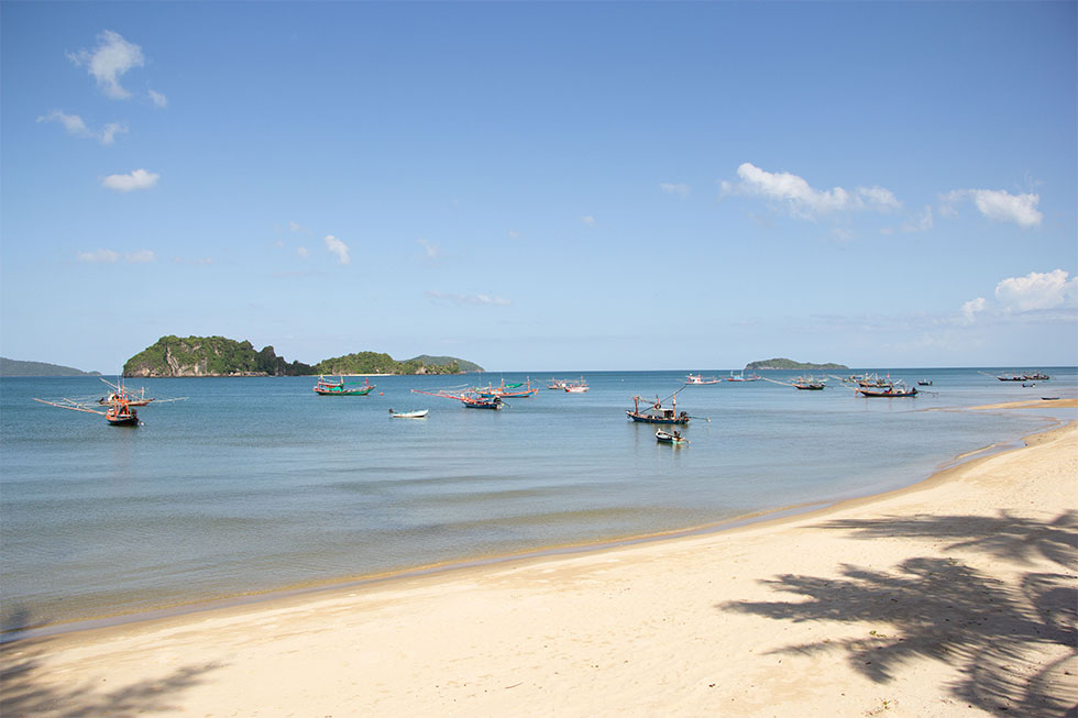 Sairee Beach op Chumphon