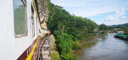 Wampo Viaduct in Kanchanaburi