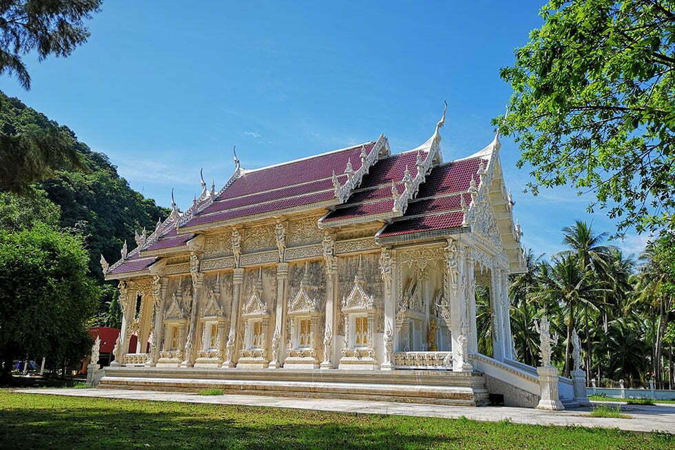 Wat Tham Pong Pang in Chumphon