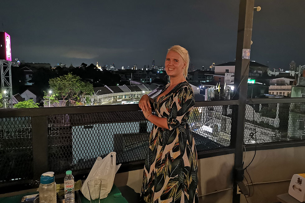 At-Mosphere Rooftop Cafe in Bangkok
