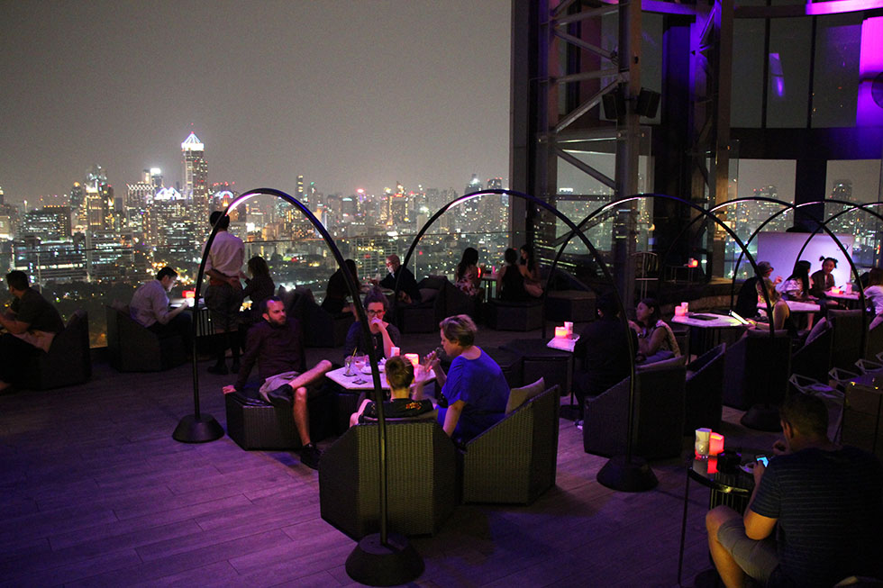 Park Society & HI-SO Rooftop Bar in Bangkok