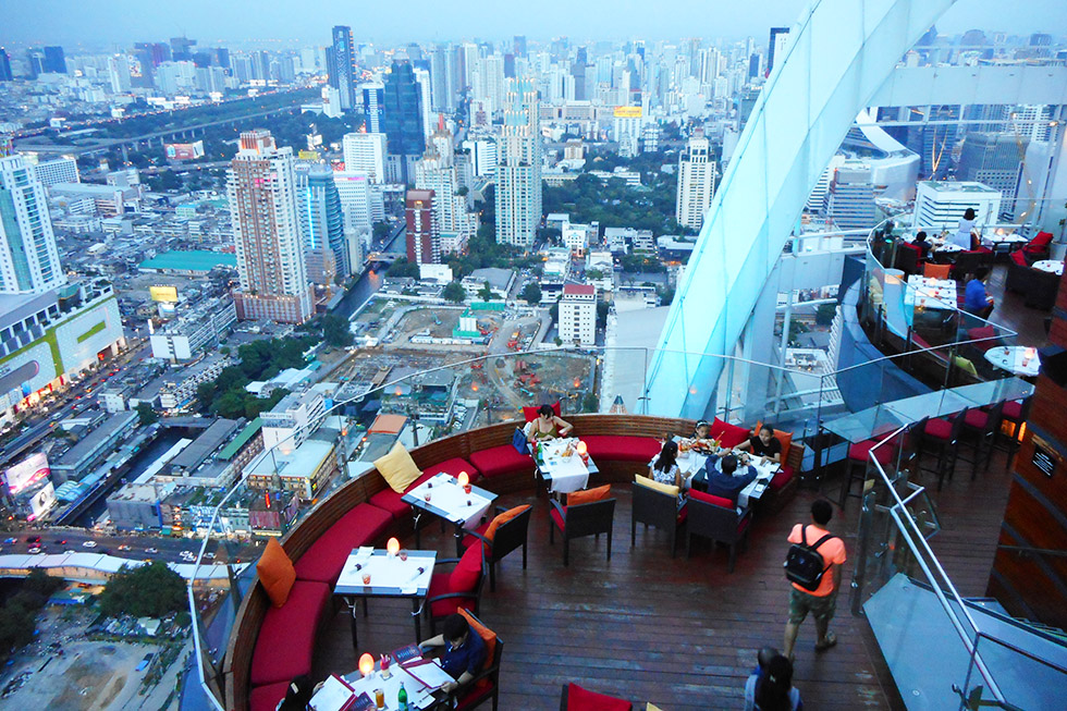 RedSky Bar in Bangkok