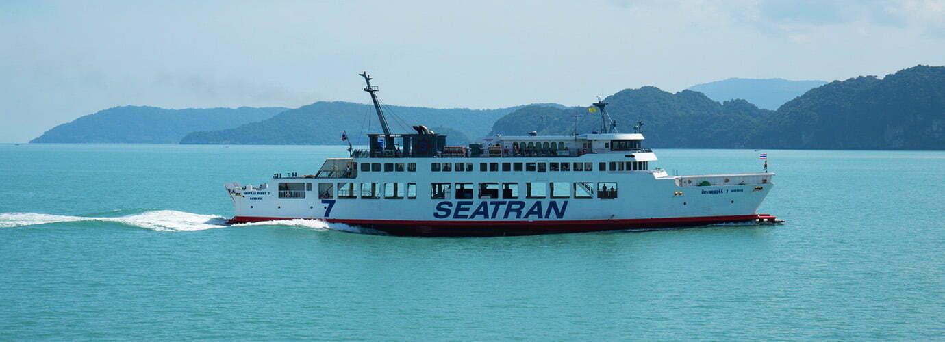 Met de boot naar Koh Samui