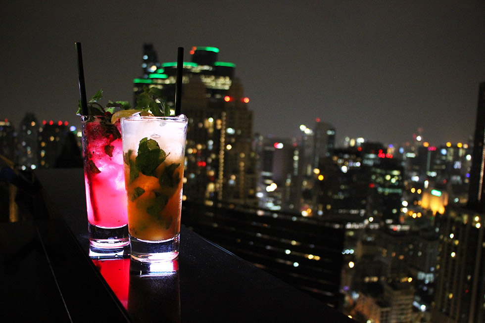ZOOM Sky Bar & Restaurant in Bangkok