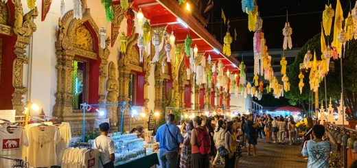 Sunday Walking Street in Chiang Mai