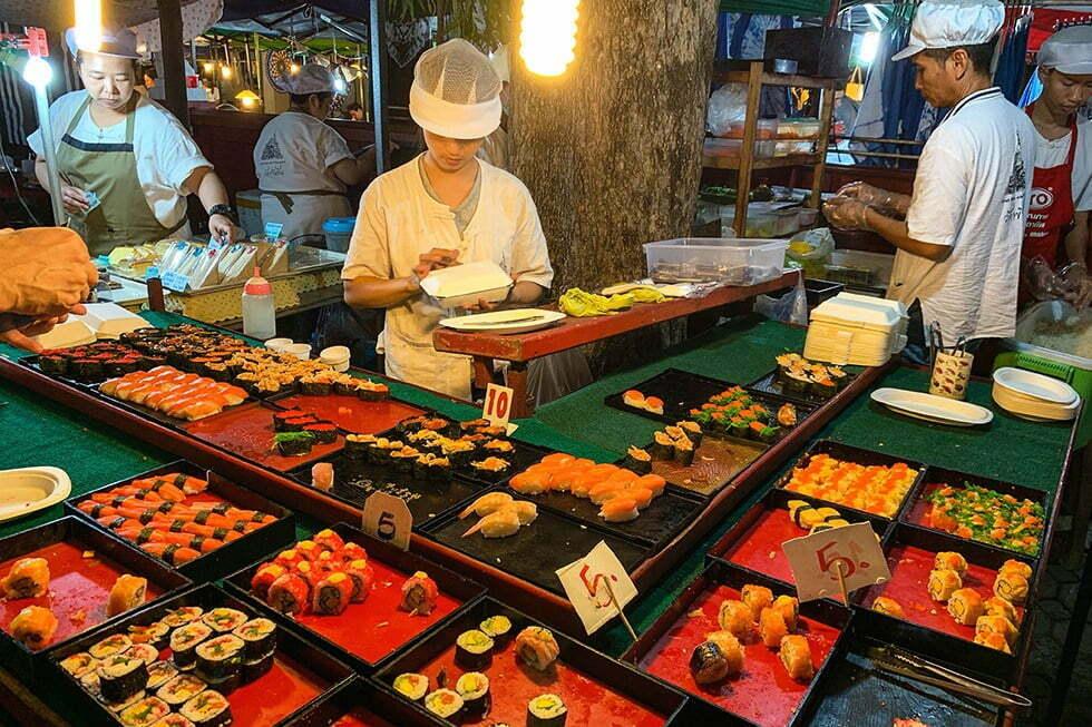 Sushi Walking Street