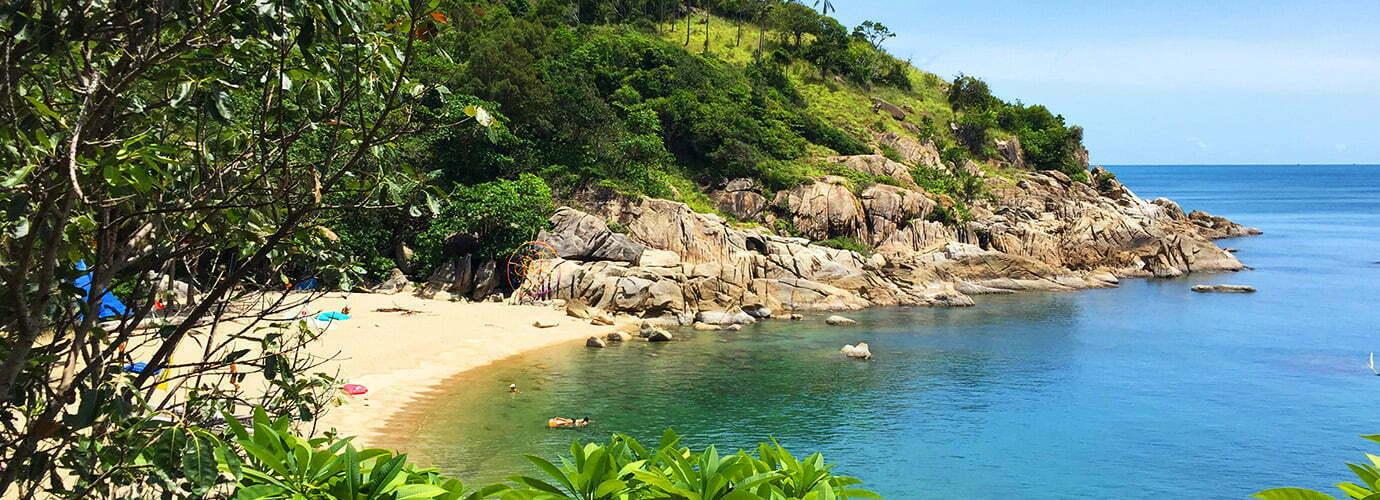 Stranden Koh Phangan