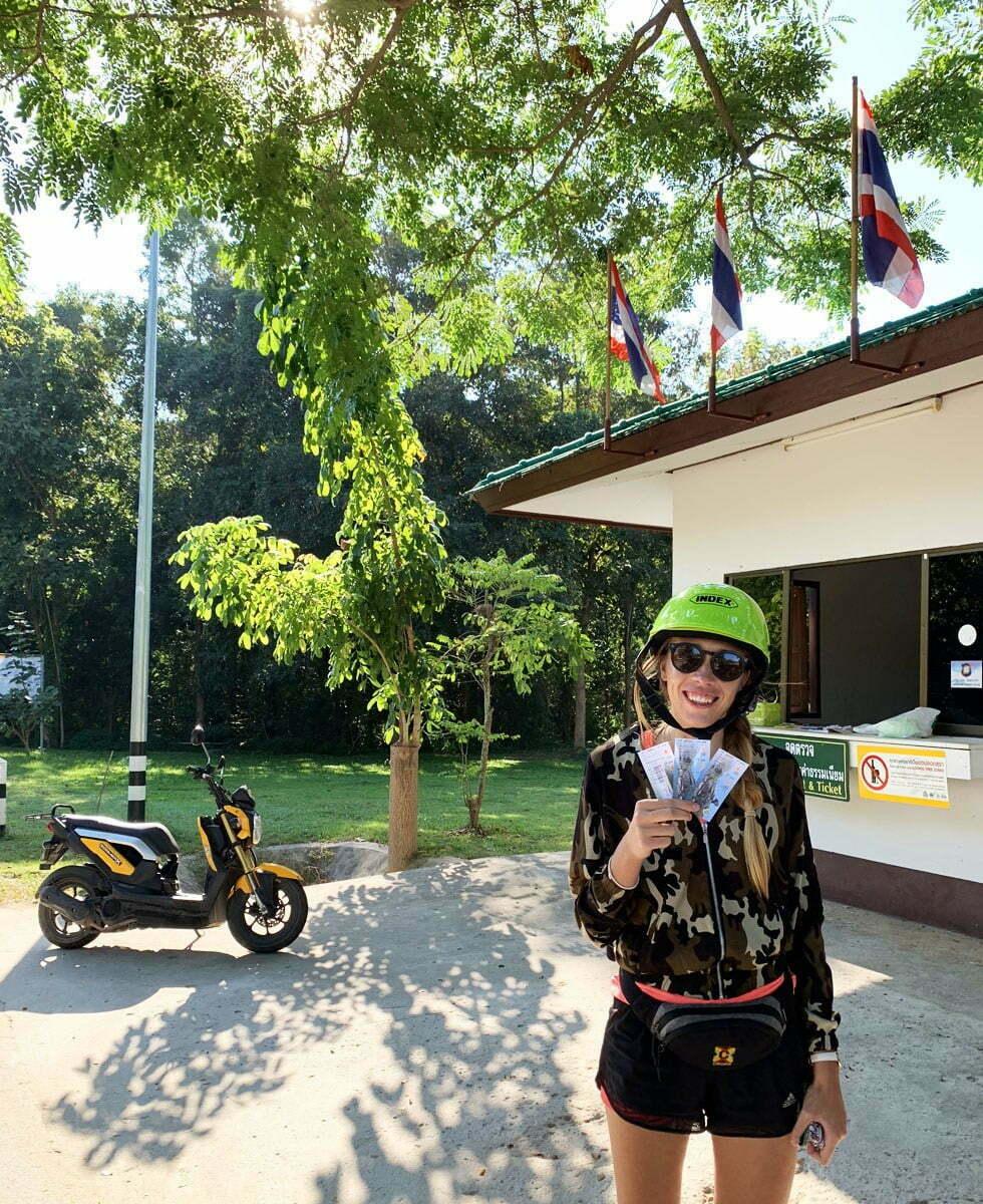 Pha Chor Canyon in Chiang Mai