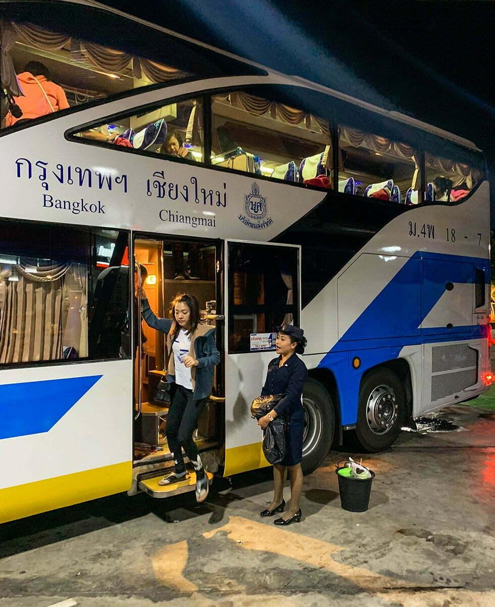 Reizen met de nachtbus in Thailand