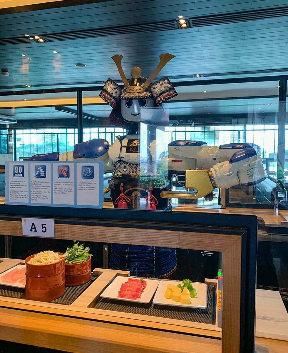 Robot Restaurant Bangkok