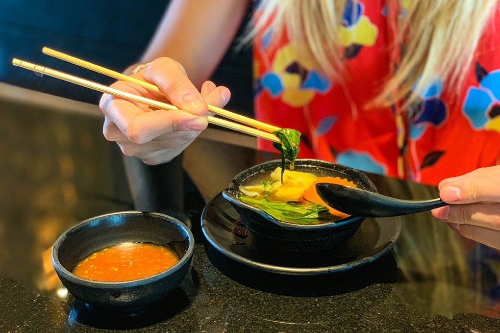 Robot Restaurant Bangkok eten