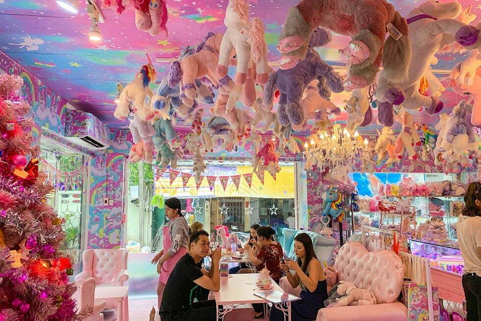 Interieur The Unicorn Cafe