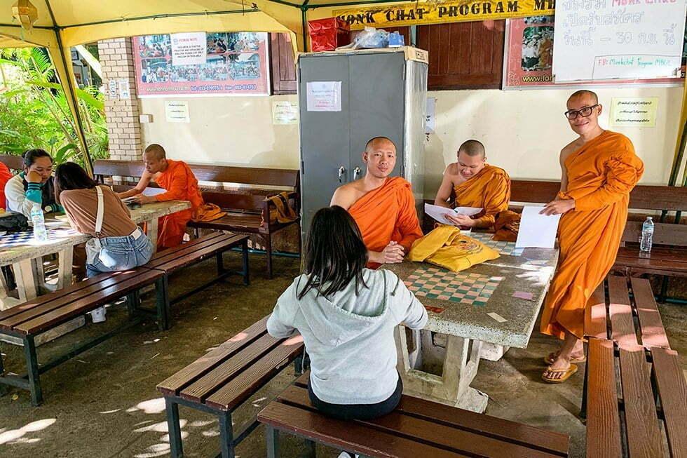 Monk Chat Chiang Mai