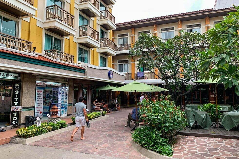 Rambuttri Village Plaza Inn - Soi Rambuttri in Bangkok